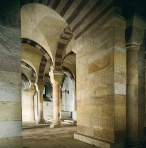 Cathedral crypt