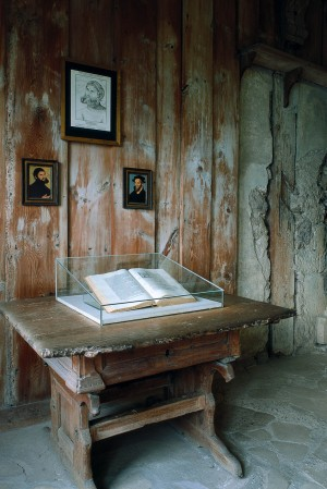 Wartburg Castle, Luther's room