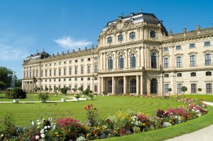 Würzburg Residenz Palace and Court Gardens