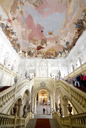 Ceiling fresco by Tiepolo in the Residenz Palace
