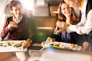 Lufthansa Business Class auf Langstrecken